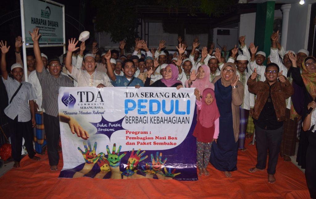 LAZ Harfa & TDA Ifthar Bersama Abang Becak