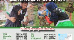 Bantu Semangat Banten Kembali, Laz Harfa Berkomitmen Bantu Pemulihan Pasca Tsunami