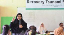 LAZ Harfa dan Bank Indonesia Sosialisasikan Program Recovery Tsunami Selat Sunda