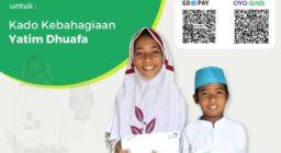 Donasi Rp.10.000 via Gopay dan OVO untuk: Kado Kebahagiaan Yatim Dhuafa