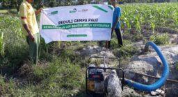 Bantu Kekeringan, LAZ Harfa Alirkan Air Bersih Hingga Ke Palu