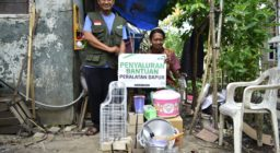 Harapan Dhuafa Terus Salurkan Bantuan Agar Kehidupan Zahra Lebih Layak