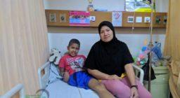 """""""Sakit kanker bukan akhir segalanya, jangan sedih, harus kuat, harus semangat"""" – Fahmi, Pejuang Kanker Tulang Kaki"""