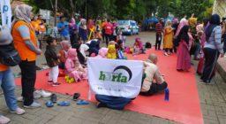 """Peduli Anak-Anak Penderita Kanker Dan Hemofilia, LAZ Harfa Terlibat Dalam """"Goes To Sehat"""""""