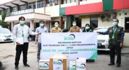 LAZ Harapan Dhuafa Distribusikan APD untuk RS Rujukan Covid-19 di Banten