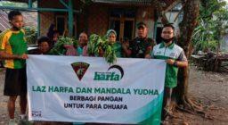 LAZ Harapan Dhuafa & Batalyon Mandala Yudha Berbagi Pangan Gratis