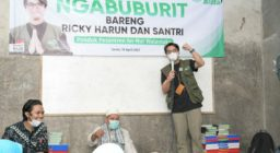 LAZ Harfa Ajak Ricky Harun Ngabuburit, Berbagi Takjil Hingga Bukber di Pesantren