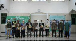 LAZ Harfa dan Yayaysan Ibadurrahman Gelar Acara Berbagi Pangan dan Santunan Anak Yatim