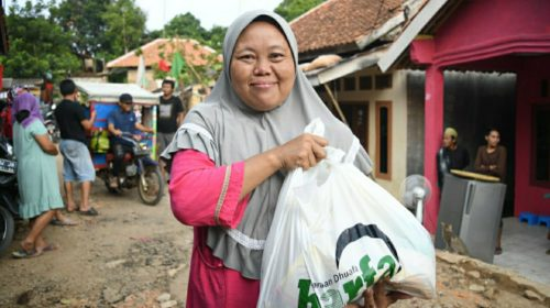 LAZ Harfa Salurkan Bantuan untuk Penyintas Banjir di Pandeglang